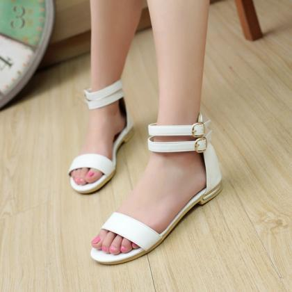 Ulass Summer Fashion Buckle Women R..