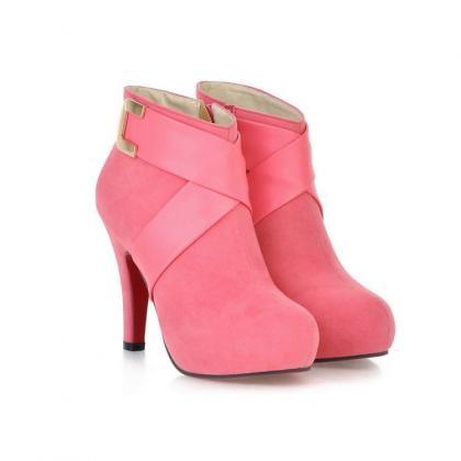 Ulass Women ankle boots ladies fash..