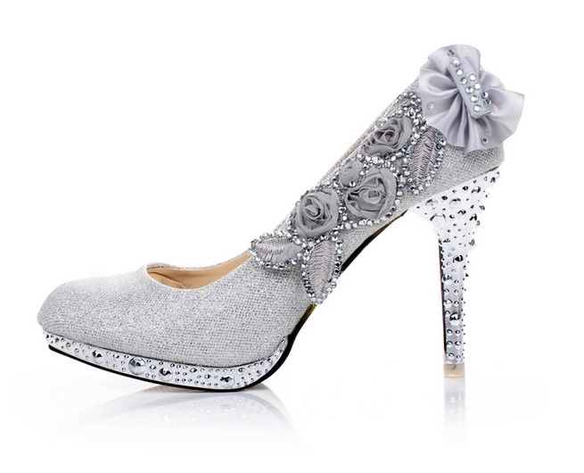 Ulass Wedding Shoes Diamond Princess Wedding Shoes High ...