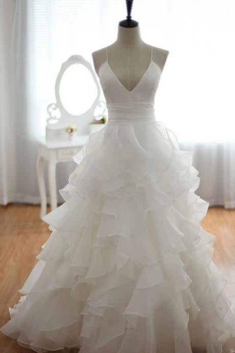 Ulass 2016 Wedding Dress A-Line Wedding Dress Cheap Wedding Dress Spaghetti Straps Wedding Dress Backless Wedding Dress Sexy Wedding Dress Bridal Dresses Wedding Gown