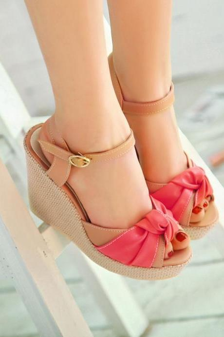 Ulass High-heeled sandals fish head