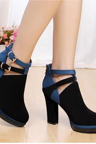Ulass Casual mixed colors with thick heels