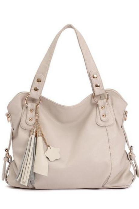 Ulass Fashion Tassel Handbag & Shoulder Bag-BB-28
