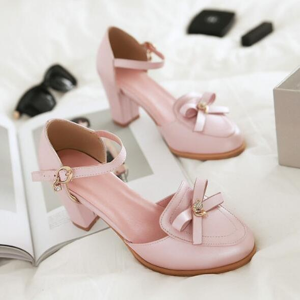 Ulass Sweet Bowknot D'Orsay Pump